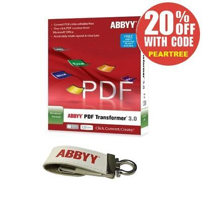ABBYY PDF Transformer+ OCR Business Card & Screenshot Reader Softwares - Bundle