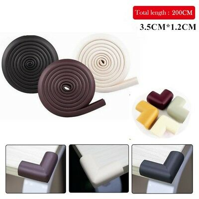 Baby Child Safety Soft Corner Edge Foam Guard Cushion Desk Table Cover Protector