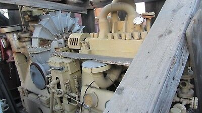 WORTHINGTON BOILER FEED Pump 3UWS8 400GPM@1425psig 7300RPM + Turbine  1200psig