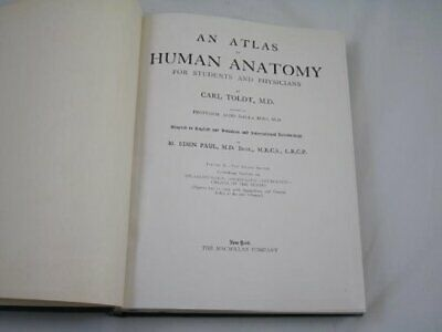 An Atlas of Human Anatomy for Students and Physicians  TWO VOLUMES [Hardcover]
