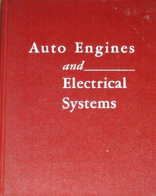 Auto engines and electrical systems, Blanchard, Harold Frederick