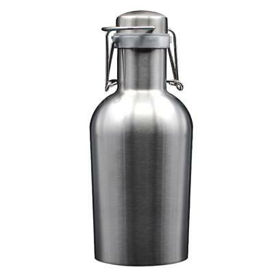 Stainless Steel Beer Keg Beer Wine Bottle Pot Can - 1.9 liter Double layer