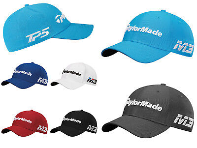 Taylormade 2018 GOLF CAP M3 TP5 Golf New Era 39 Thirty Tour Stretch Fit Cap Hat