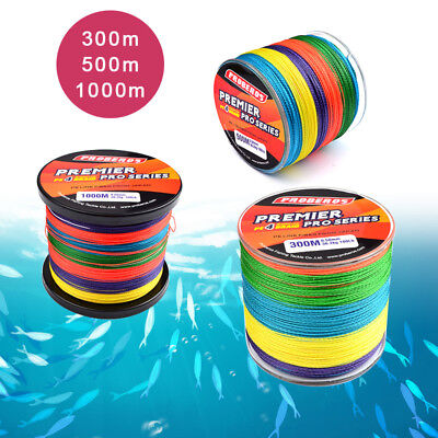 300M 500M 1000M Spectra PE Dyneema 15 35 60 80 100LB Color Braid Fishing line
