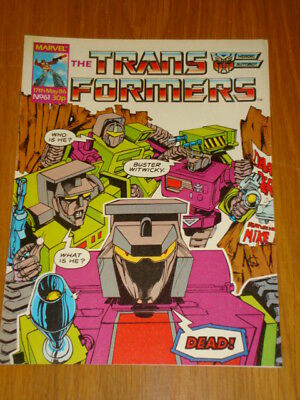 Transformers British Weekly #61 Marvel Uk Comic 1986