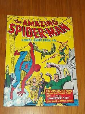 Spiderman British Weekly Summer Special 1978 Marvel