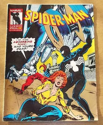Spiderman British Weekly Summer Special 1987 Marvel
