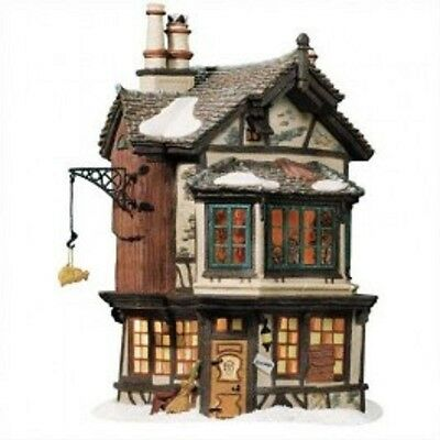 Department 56, Dept 56 Dickens Village - Ebenezer Scrooges House, 56.58490