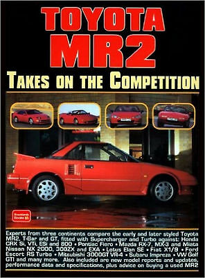 Livre TOYOTA MR2 TAKES ON THE COMPETITION