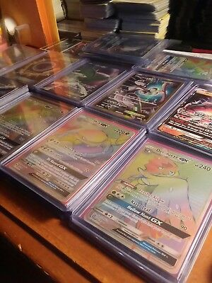 "NEW WINTER S&M Pokemon Card Lot ""30+1 Lot"" Guaranteed GX/EX/Full Art/Secret Rare"