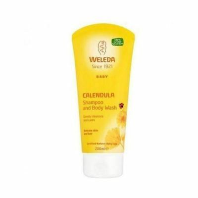 Weleda (Uk) Calendula Baby Shampoo & Body Wash 200ml (5 Pack)