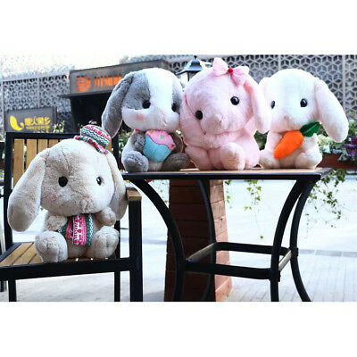 New Lovely Bunny Soft Plush Toy Rabbit Stuffed Pillow Decor Gift Animals Doll