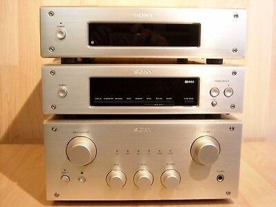 Sony 3000ES High End Midi Size Audio Set * TA-F3000ES + ST-S3000ES + CDP-X3000ES