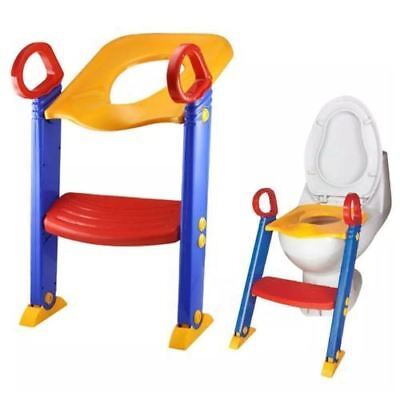 Baby Toddler Toilet Training potty Seat - 2 step Ladder Toilet trainer for Child