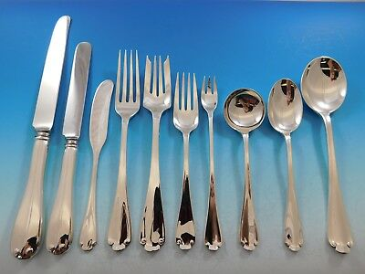 Flemish by Tiffany and Co. Sterling Silver Flatware Set for 12 Service 126 pcs