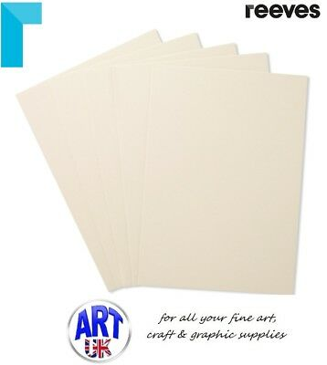 Reeves Artists WATERCOLOUR PAINTING BOARDS pack of 5 pastel surface ground