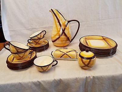 30% OFF DINNERWARE  33 PIECES VERNONWARE ORGANDIE PATTERN MANUFACTURED 1940s/50s