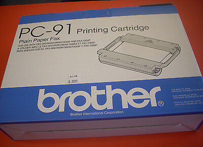 Brother PC-91 Printing cartridge (plain paper fax)