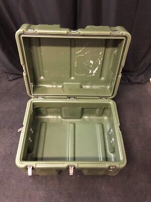 "HARDIGG 25x19x15"" Medical Shipping Container Waterproof Military Grade Hinged"