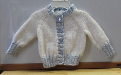 fbfa2ae32 New Hand Knitted Baby Boy / Girl Cothes Sweater Preemie to Newborn D51