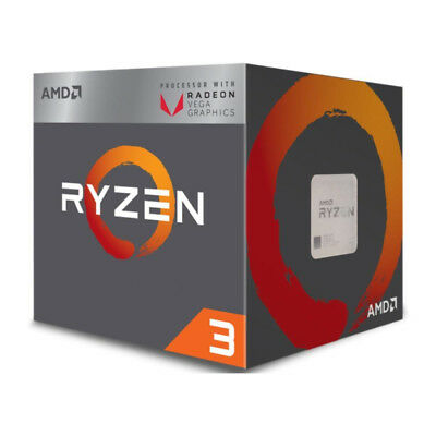 AMD Ryzen 3 2200G CPU with Radeon Vega 8 Graphics (YD2200C5FBBOX)