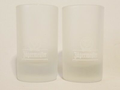 Jagermeifter Frosted Shot Glasses Set Of 2