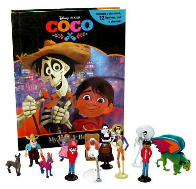 Disney's COCO: MY BUSY BOOK w/ 12 Figures and Playmat! BRAND NEW!