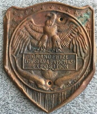 1904 Louisiana Purchase St. Louis Exposition Grand Prize Award HARPER WHISKEY
