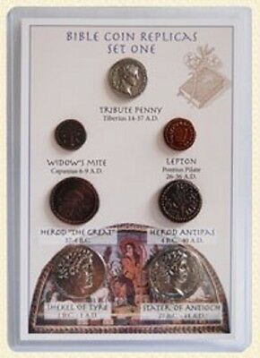 Coins Of The Bible Set 1 - Museum Tokens