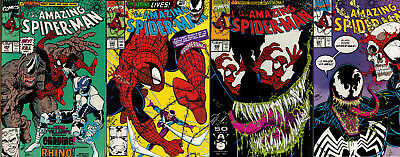 The Amazing Spider-Man #344, 345, 346, 347 1st Cletus Kasady