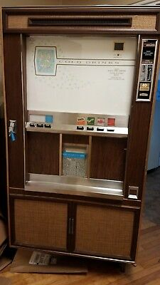 EXTREMELY RARE Vintage cold cup soda vending machine for Restoration!