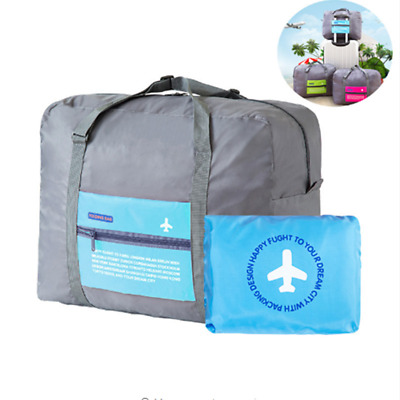 Waterproof Folding Travel Storage Bag Large Capacity Luggage Packing Tote Bag