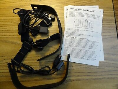 Vernier Software Exercise Heart Rate Monitor Components as Shown