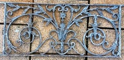 French cast iron grill believed to be early 19th Century