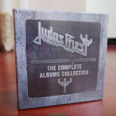 "Judas Priest ""The Complete Albums Collection"" 19CD Box Set Sealed & Brand NEW"