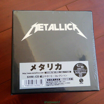 Metallica: The Album Collection 13 Discs Mini-LP CD  Japan Box Set Sealed HOT