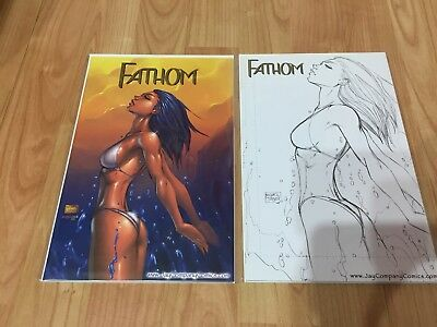 Fathom 1 Wizard World Philadelphia 1 In 500 Variants