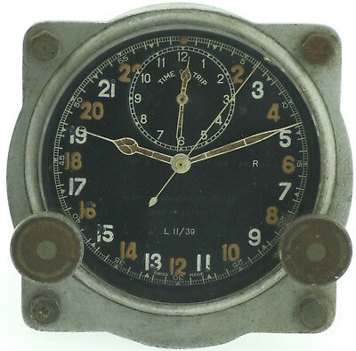Smith and Sons MKIII, L6/39 engl. Military Borduhr WWII 1939-45 Jager LeCoultre
