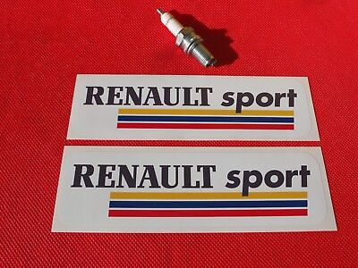 Pair of Renault sport stickers