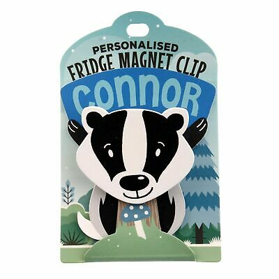 Fridge Magnet Clip Connor