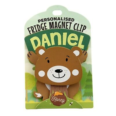 Fridge Magnet Clip Daniel