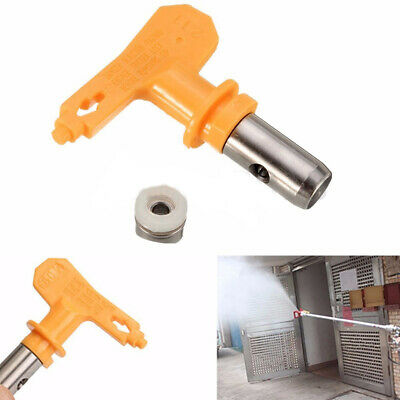 Universal 6 5 4 3 2 Series Reversible Airless Spray Tips Paint Sprayer Nozzle