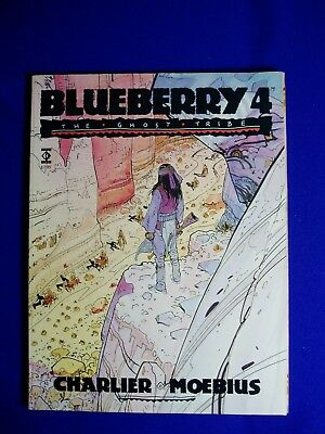 Blueberry 4 : Moebius. 'The Ghost Tribe' 1st.  Titan Books edn. FN+