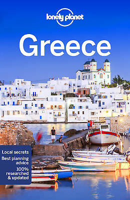 Lonely Planet Greece Travel Guide 2018 BRAND NEW 9781786574466