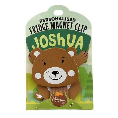 Fridge Magnet Clip Joshua