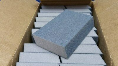 """Lot of 24 Double Angle Drywall Sanding Block Med/Fine 60/100 Grit 3"""" x 5"""" x 1"""""""