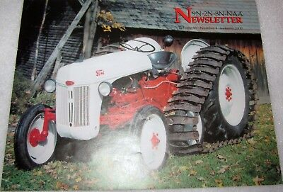 Ford Tractor Newsletter 9N-2N-8N-NAA Autumn 2000 Engine Valves
