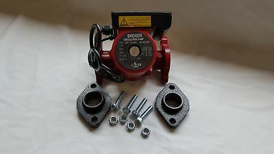"""3 speed Circulating Pump 20 GPM With 1 1/4"""" Cast Flange Set"""