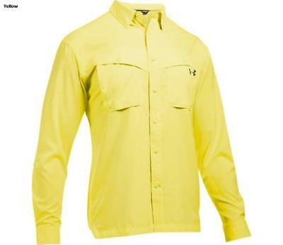 Under Armour Tide Chaser Long Sleeve Fishing Shirt 1290744-756 Sol Yellow