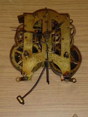 Ansonia striking mantel clock movement for spares